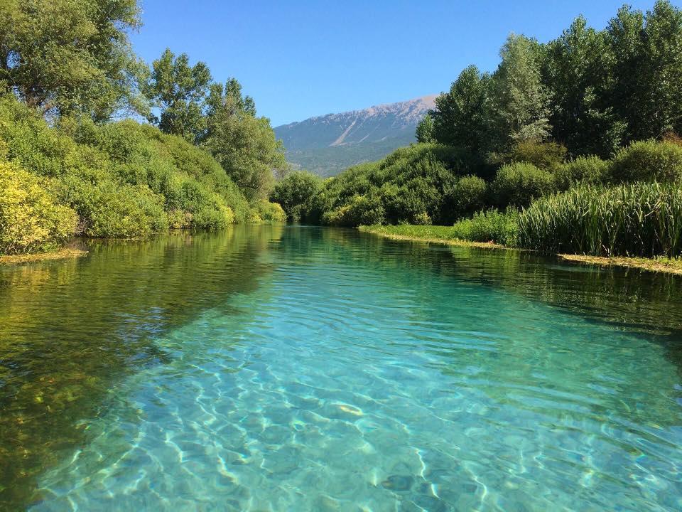 Il lungo fiume tirino yes abruzzo - Il giardino sul fiume ...